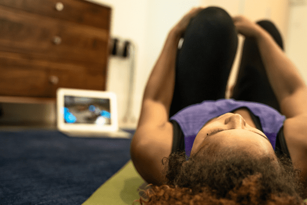 Yoga online is great for travelers