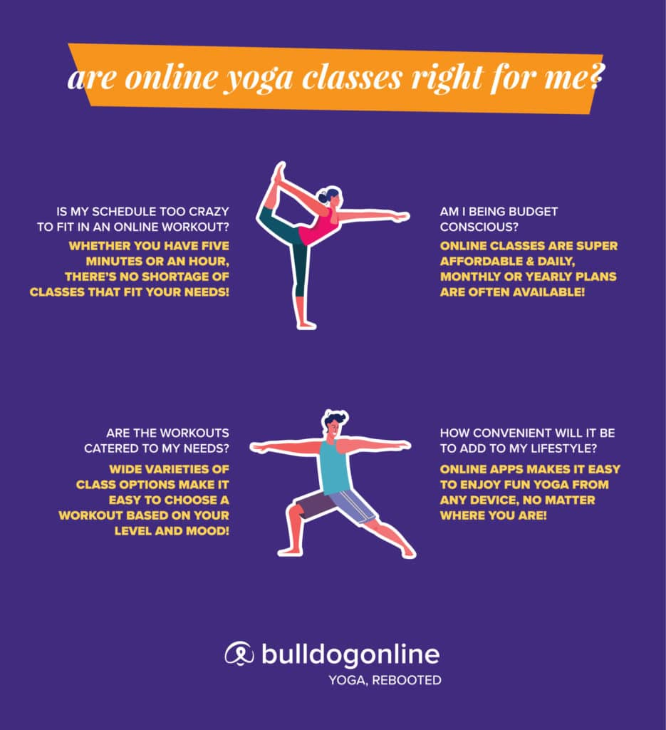are online yoga classes right for me?