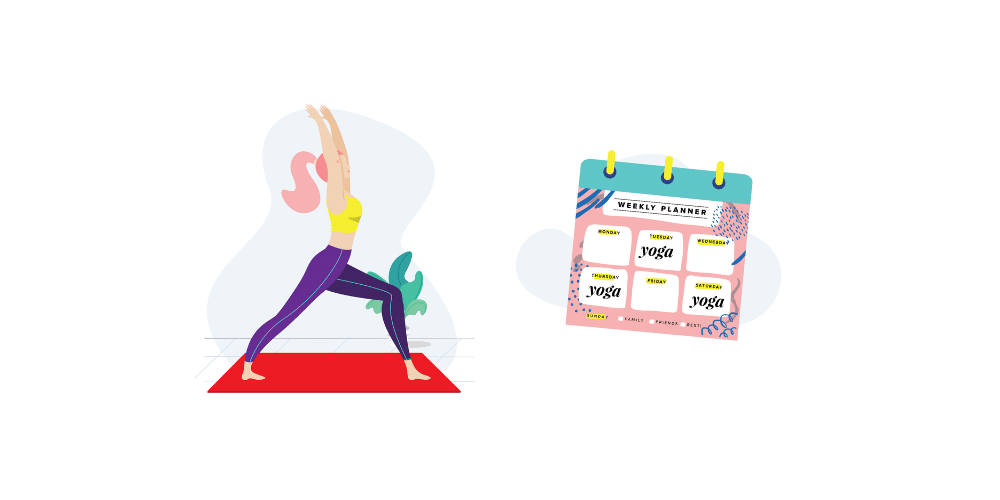 stay on track with you fitness goals with online yoga classes