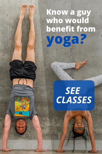 Online Yoga Workout for men