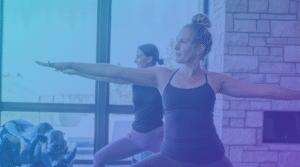 Yoga exercises and yoga workout