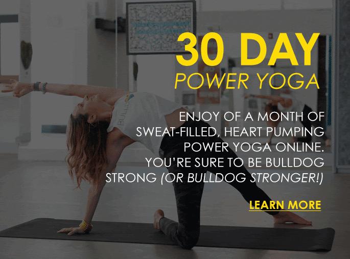 30 day power yoga workout plan