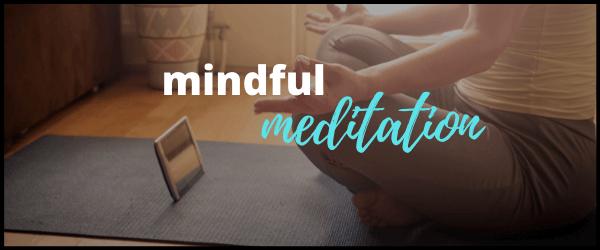 Mindful meditation yoga classes