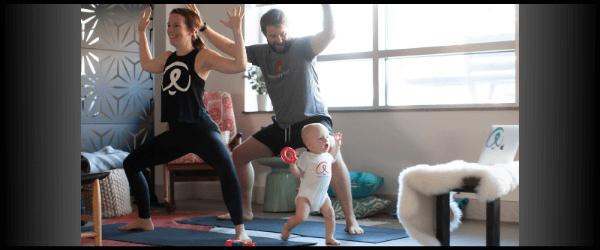 At home yoga has many benefits