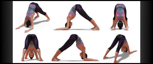 athlete yoga poses