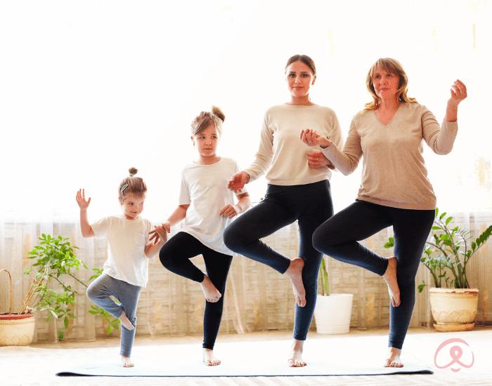 Intergenerational Yoga