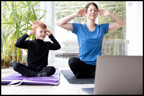 Yoga & Online Fitness for Family Back to School